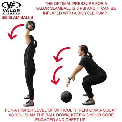 Image of Valor Fitness SB Slam Balls Squat