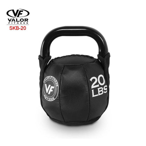 Image of Valor Fitness SKB Soft Kettlebells 20 Lbs 3D View