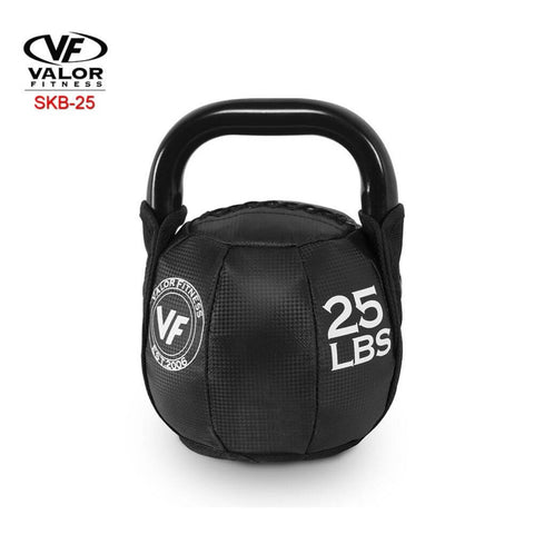 Image of Valor Fitness SKB Soft Kettlebells 25 Lbs 3D View
