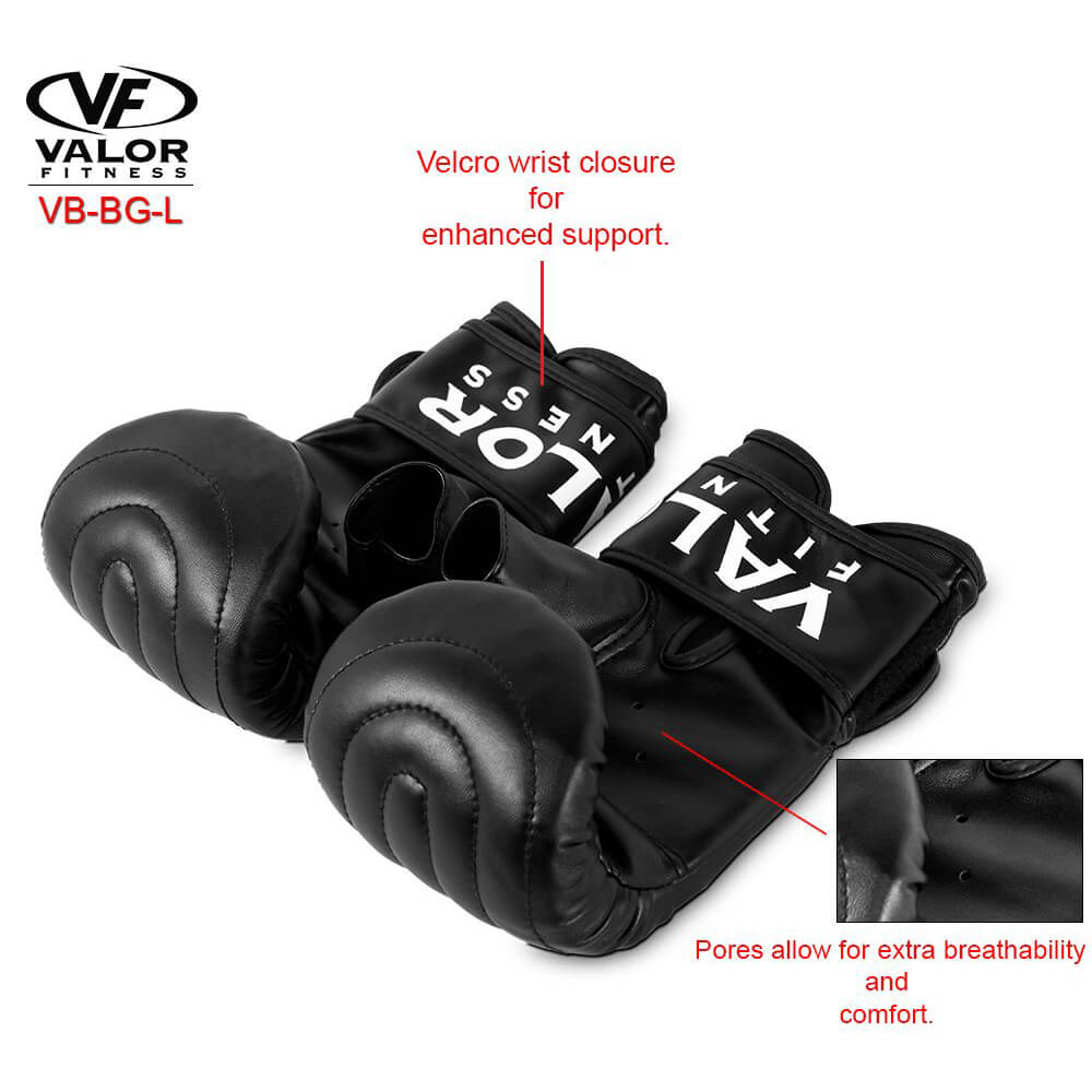 Valor Fitness VB-BG Sandbag Gloves Features