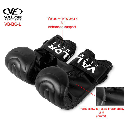 Image of Valor Fitness VB-BG Sandbag Gloves Features