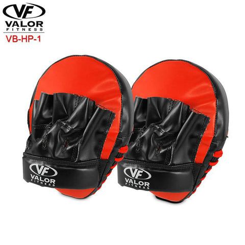 Image of Valor Fitness VB-HP-1 Hand Punching Guards Back View