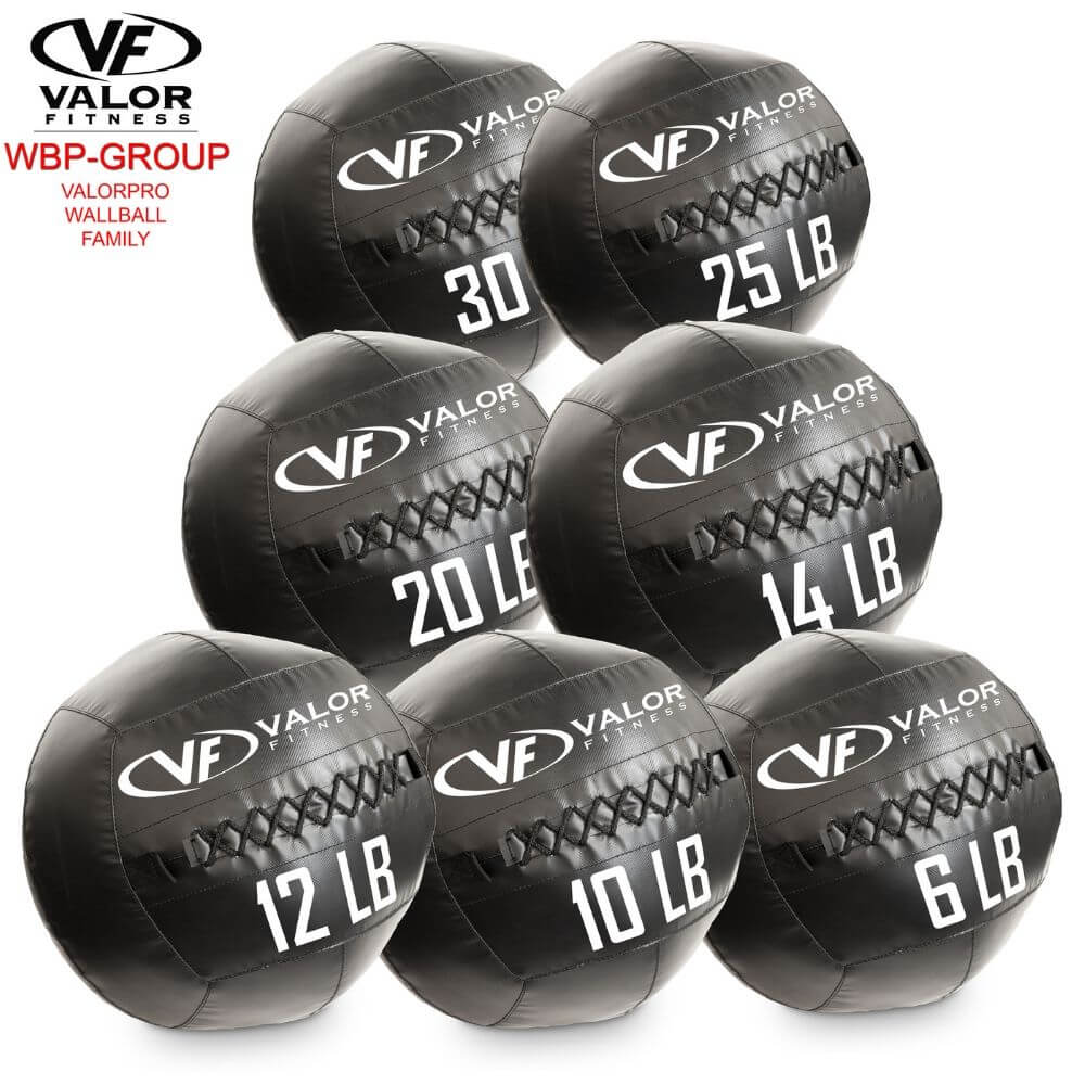 Valor Fitness WBP ValorPRO Wall Balls Family