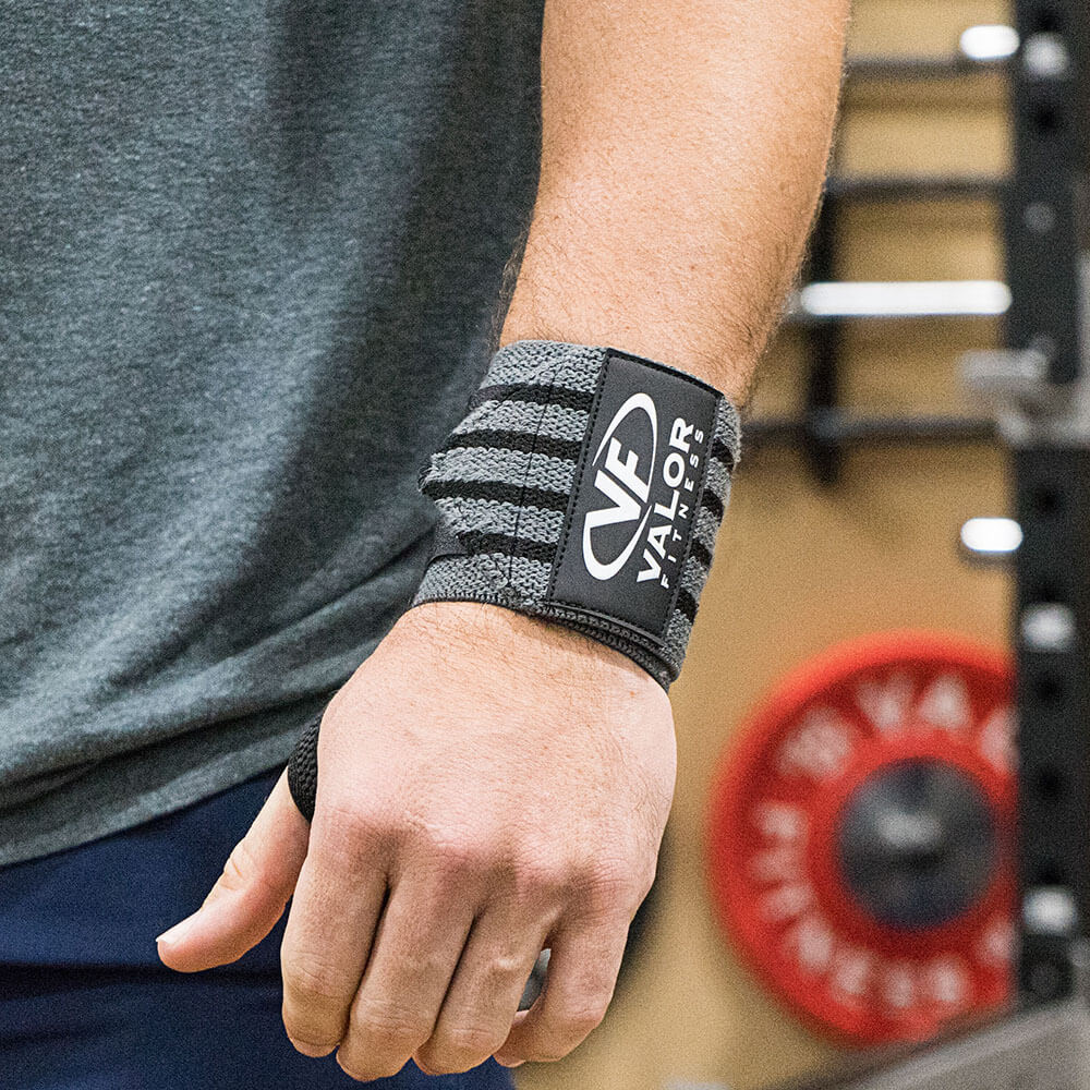 Valor Fitness WW-15 15 Wrist Wrap Attached