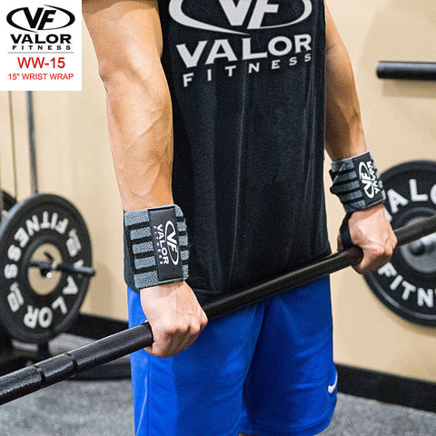 Image of Valor Fitness WW-15 15 Wrist Wrap Both Hands