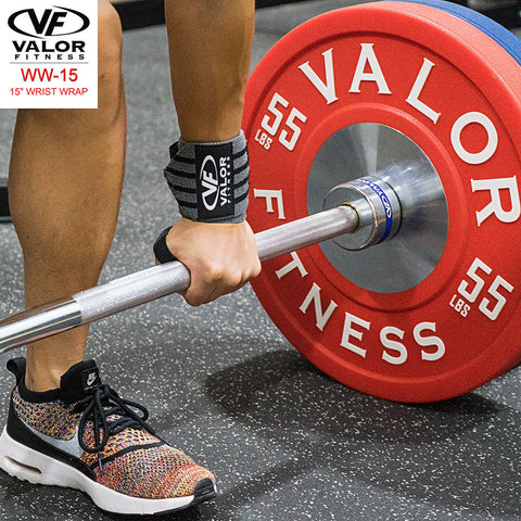 Image of Valor Fitness WW-15 15 Wrist Wrap Lifting