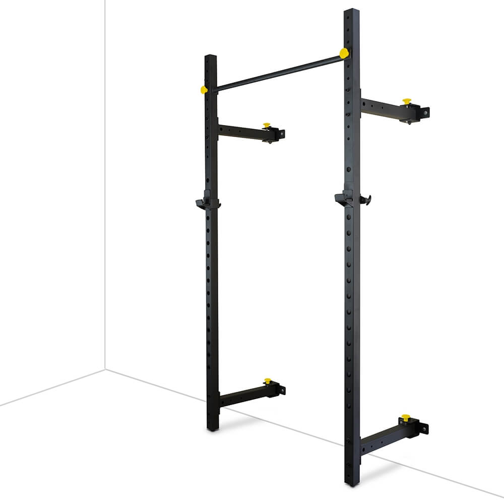 Valor Fitness Wall Mount Foldable Squat Rack BD-20 3D View