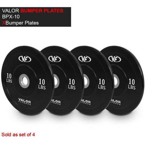 Valor Fitness XBP XBumper Plates 10 Lbs 3D View