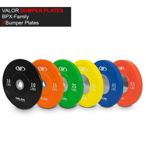 Image of Valor Fitness XBP XBumper Plates Family