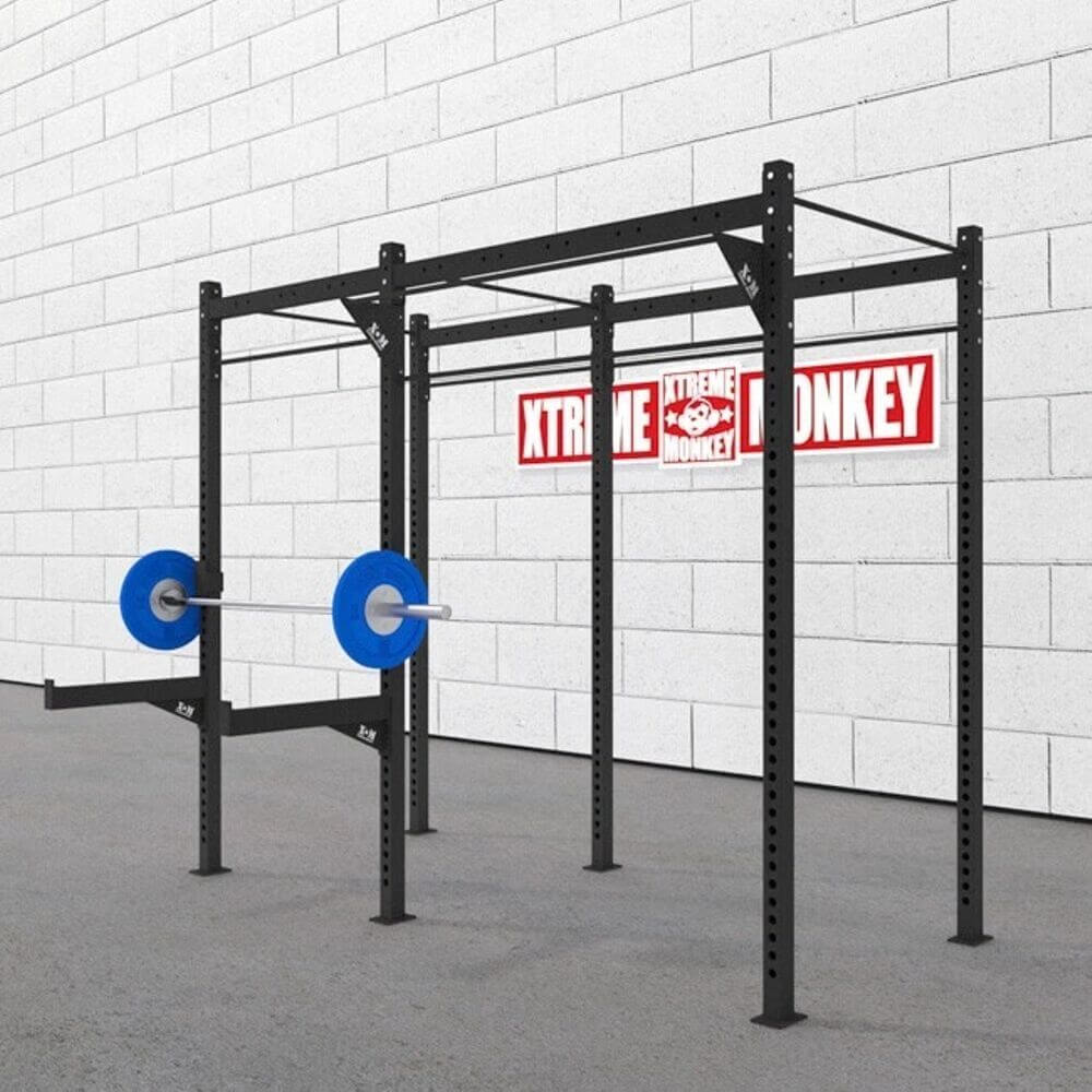 Xtreme Monkey 10-4 Free Standing Rig V2 3D View With Plates