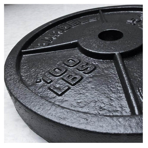 Image of Xtreme Monkey 100lb Olympic Steel Plate 3D