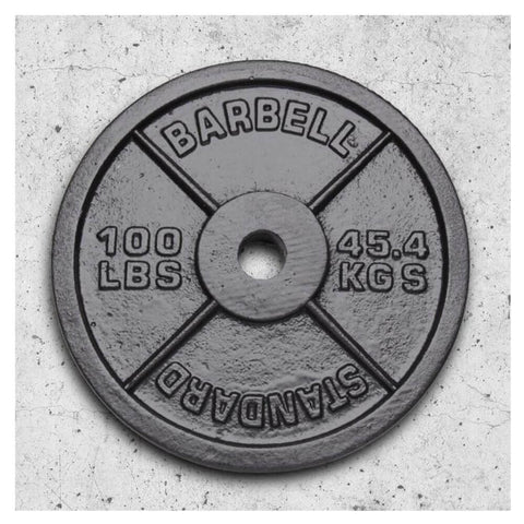 Image of Xtreme Monkey 100lb Olympic Steel Plate