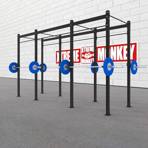 Image of Xtreme Monkey 14-4 Free Standing Rig 3D View With Plates