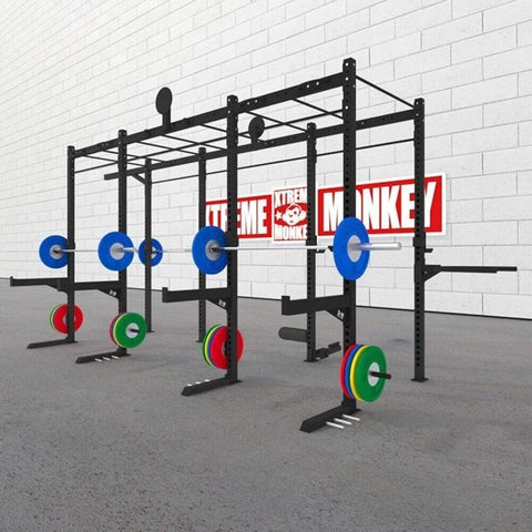 Image of Xtreme Monkey 14-6 Fully Loaded Free Standing Rig 3D View With Plates