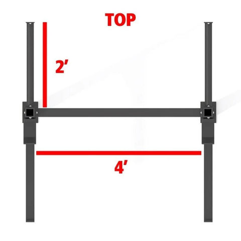 Image of Xtreme Monkey 4-2 Wall Mount Rig V2 Top View