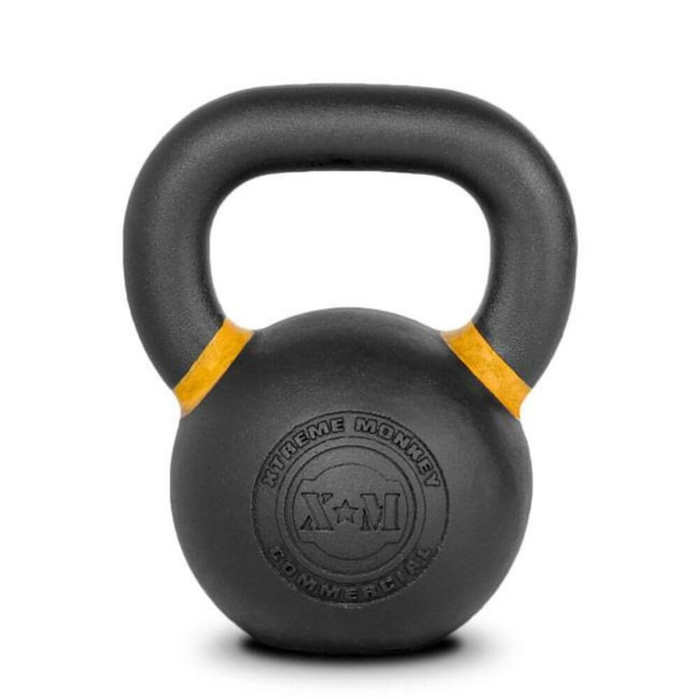 Xtreme Monkey Gravity Poured Cast Iron Kettle Bells 16 Logo