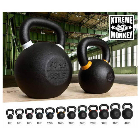 Image of Xtreme Monkey Gravity Poured Cast Iron Kettle Bells Set