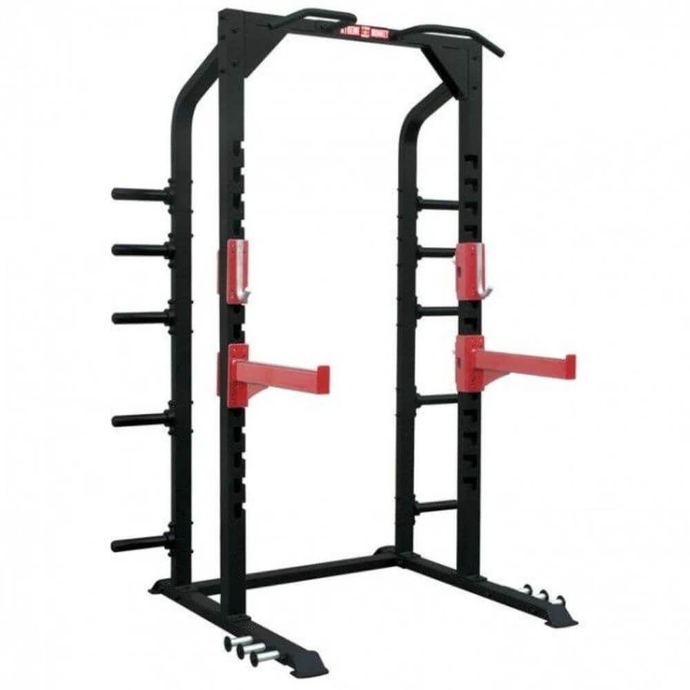 Xtreme Monkey XM-3343 Commercial Half Power Rack 3D View