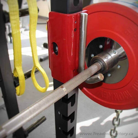 Image of Xtreme Monkey XM-3344 Commercial Full Power Rack Close Up View