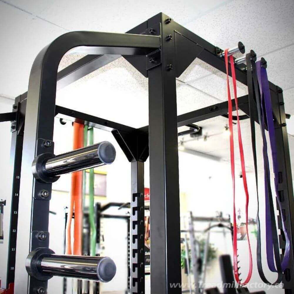 Xtreme Monkey XM-3344 Commercial Full Power Rack Top Close Up