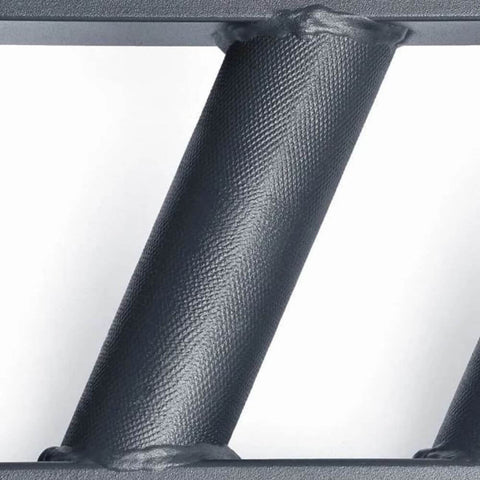 Xtreme Monkey XM-4204 Black Steel Swiss Angled Bar Close Up