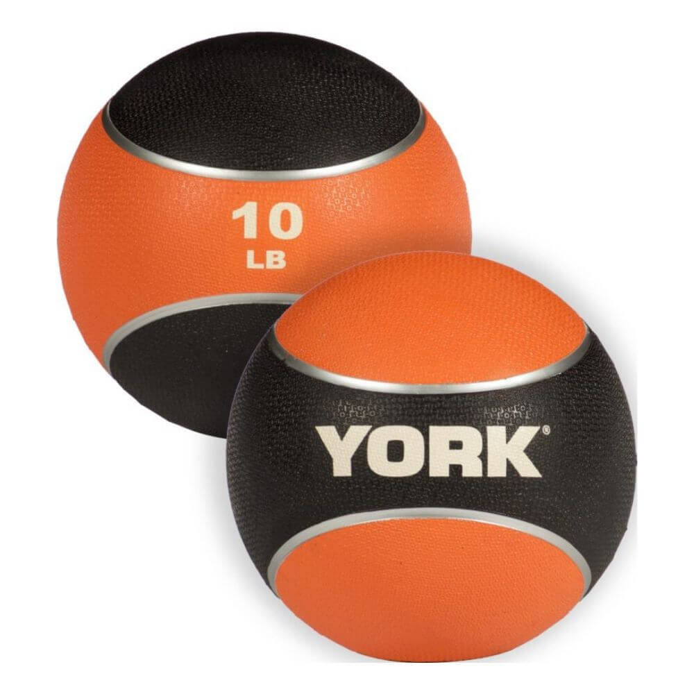 YORK Barbell 65106 Medicine Rubber Ball 10