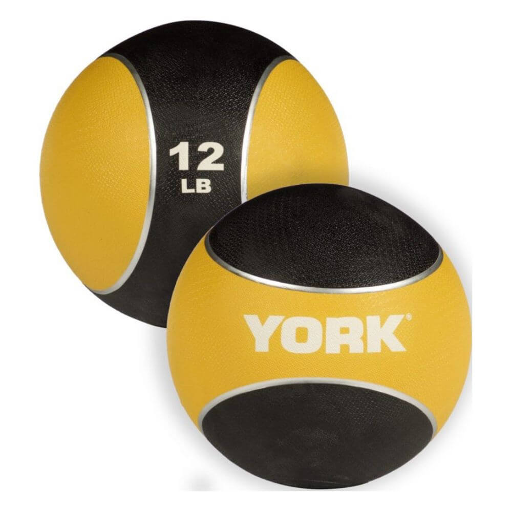 YORK Barbell 65106 Medicine Rubber Ball 12