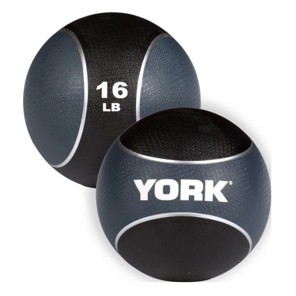 YORK Barbell 65106 Medicine Rubber Ball 16
