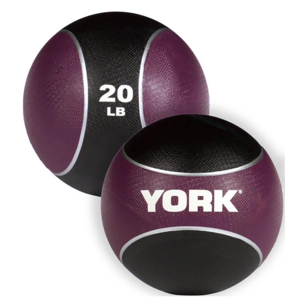 YORK Barbell 65106 Medicine Rubber Ball 20