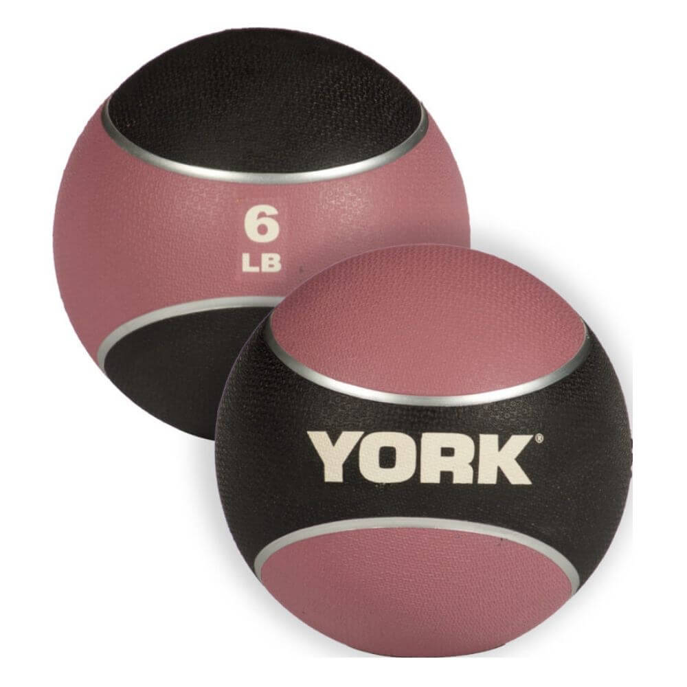 YORK Barbell 65106 Medicine Rubber Ball 6