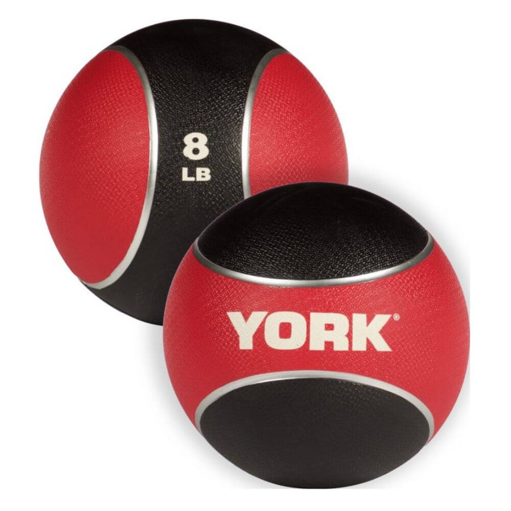 YORK Barbell 65106 Medicine Rubber Ball 8