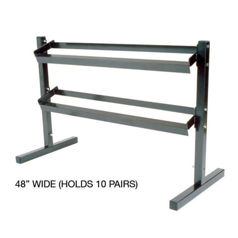 YORK Barbell 6913 8000 Two Tier Dumbbell Stand