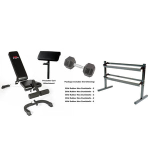 York Barbell Advanced Dumbbell Package