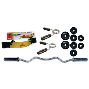 York Barbell Arm Blaster Bundle