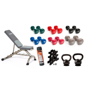 York Barbell Fit & Tone Advanced Package