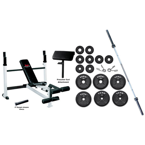 York Barbell Home Gym Essentials