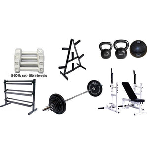 York Barbell Silver Package