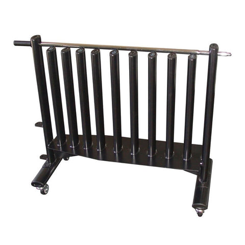 Image of York Barbell 15612 Black Neoprene Hex Fitbell Club Rack