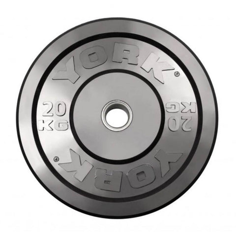 York Barbell USA Rubber Bumper Plates (kg)