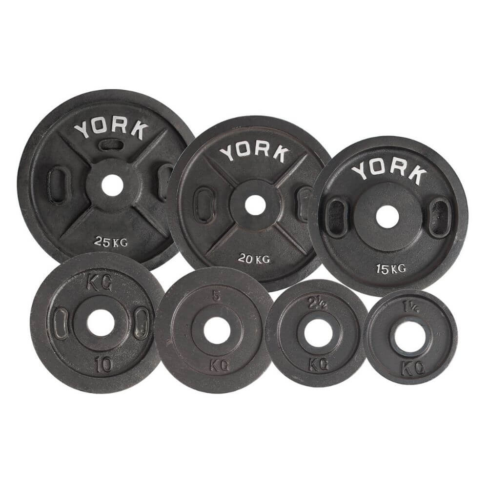 York Barbell 2810 Calibrated Kilo Olympic Plates