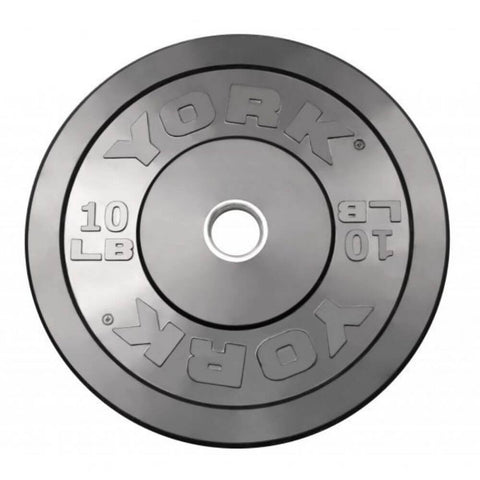 Image of York Barbell 29067 USA Rubber Bumper Plates 10