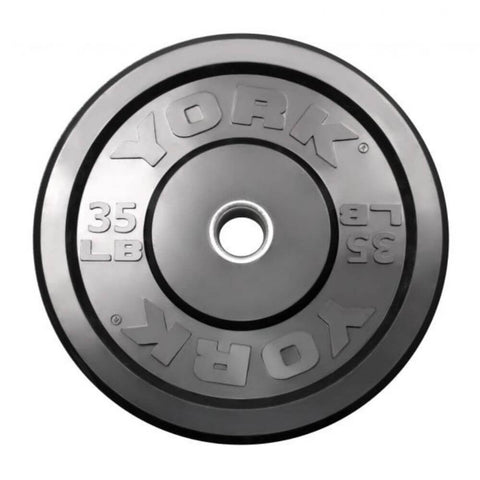 Image of York Barbell 29067 USA Rubber Bumper Plates 35