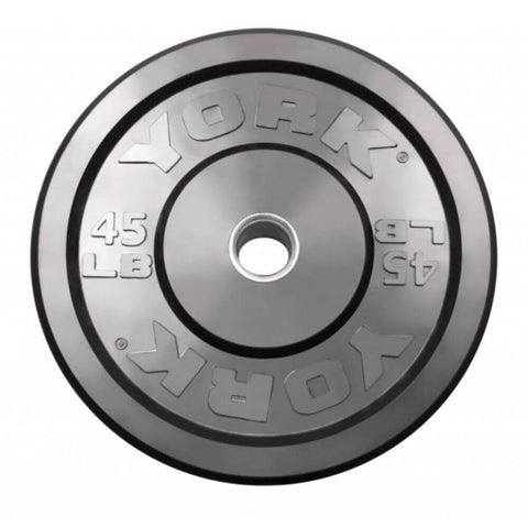 Image of York Barbell 29067 USA Rubber Bumper Plates 45