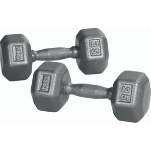 York Barbell 34002 Pro Hex Dumbbell