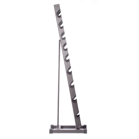 Image of York Barbell 15400 Rubber Hex Dumbbell Storage Rack Side View