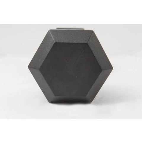 York Barbell 34050 Rubber Hex Dumbbell Hex View