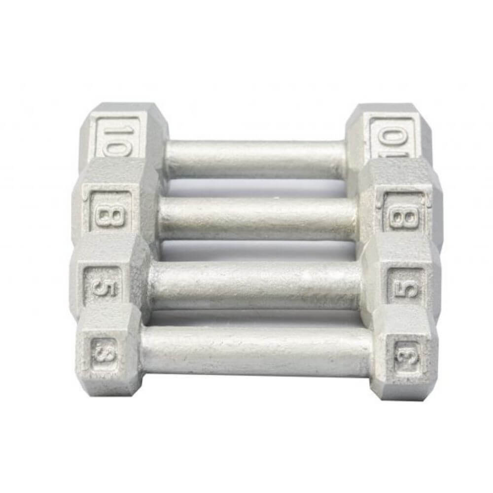York Barbell 3461 Cast Iron Hex Dumbbells