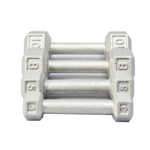Image of York Barbell 3461 Cast Iron Hex Dumbbells