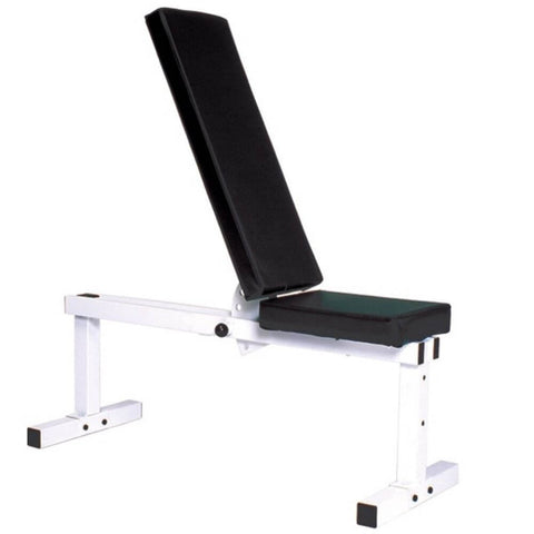 Image of York Barbell 4223 Pro Series 205 FI White Flat Adjustable Incline Bench Press 3D View