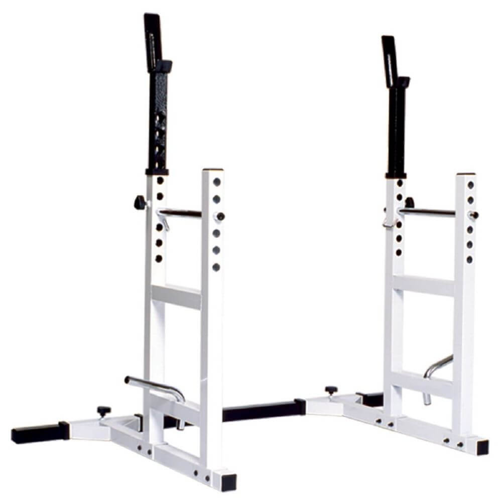 York Barbell 4232 Pro Series 204 Squat Rack Barbell Support